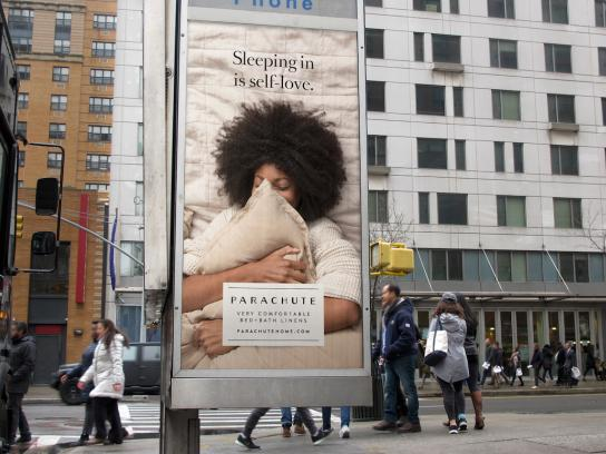 Parachute Outdoor Ad - Sleeping In