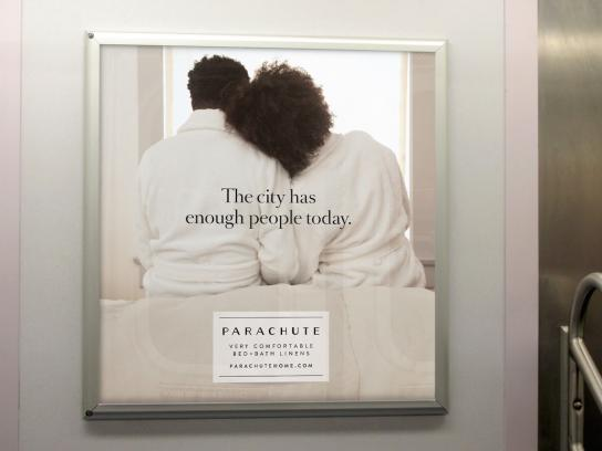 Parachute Outdoor Ad - City Robes