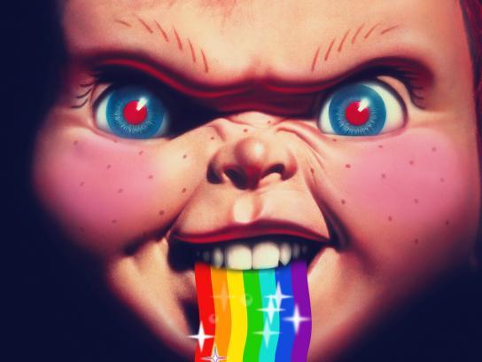 Cabletica Print Ad - Parental Control - Chucky