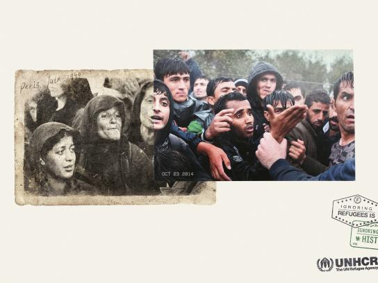 UNHCR Print Ad - Paris