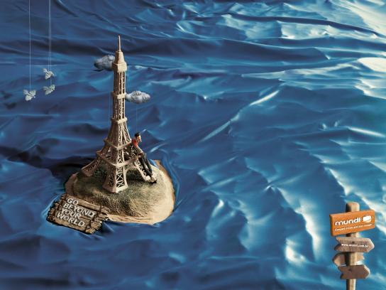 Mundi Print Ad -  Paris
