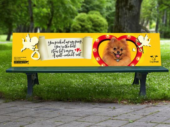 Dogs Trust Outdoor Ad - The big scoop, 4