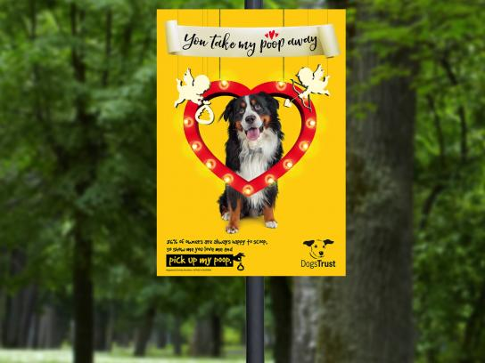 Dogs Trust Outdoor Ad - The big scoop, 6