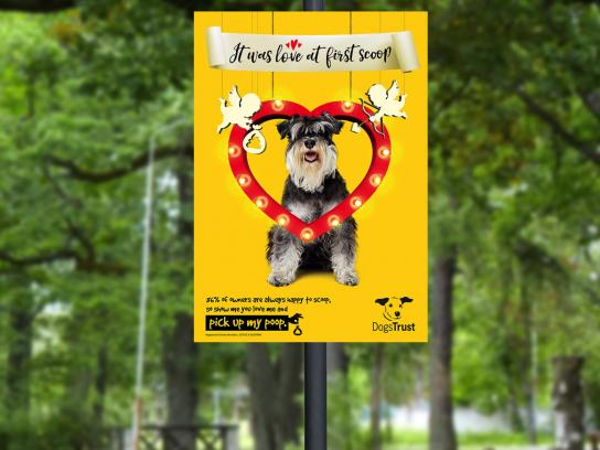 Dogs Trust Outdoor Ad - The big scoop, 7