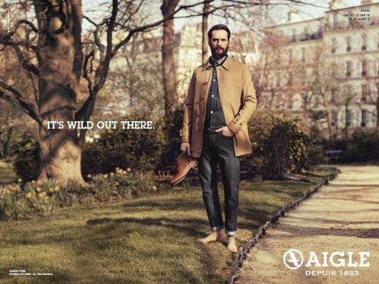 Aigle Print Ad -  Park