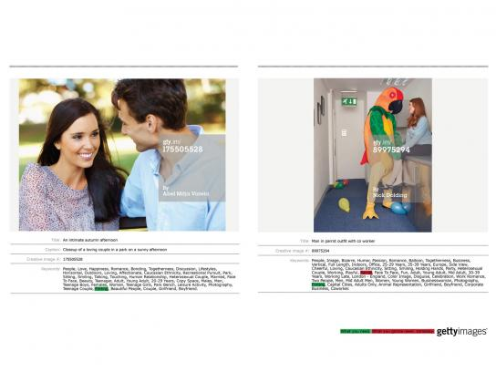Getty Images Print Ad -  Parrot