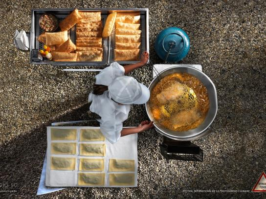 Festival International de la Photographie Culinaire Print Ad -  Street Food, 3