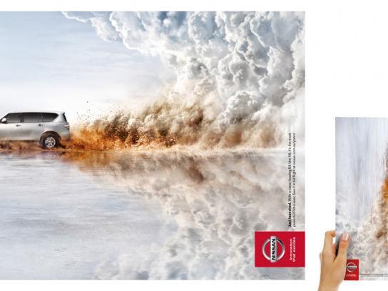 Nissan Print Ad -  Patrol Y62 Launch