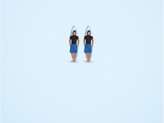 Fisio BCN Print Ad - Pause - Surf