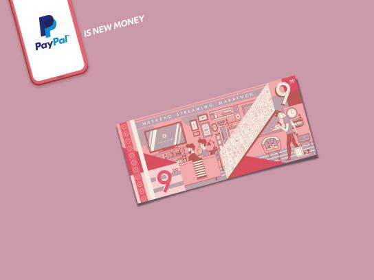 PayPal Print Ad - PayPal is New Money, 1