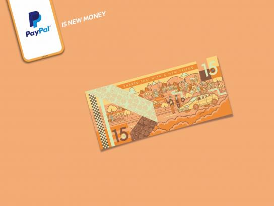 PayPal Print Ad - PayPal is New Money, 2