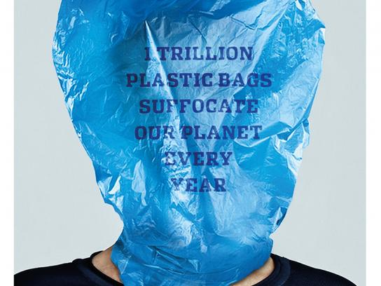 Plastic Bag Free World Print Ad - Year
