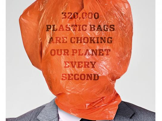 Plastic Bag Free World Print Ad - Second