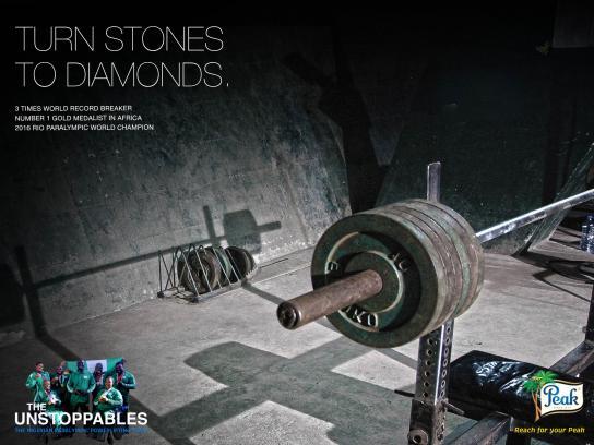 Peak Print Ad - Paralympic, 2