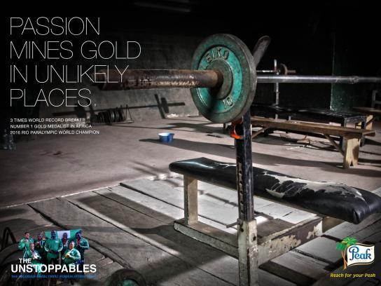 Peak Print Ad - Paralympic, 3