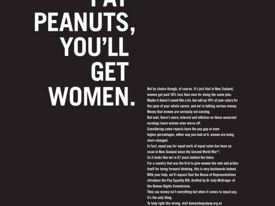 YWCA Print Ad -  Peanuts
