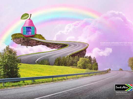 Brand South Africa Print Ad - Pear