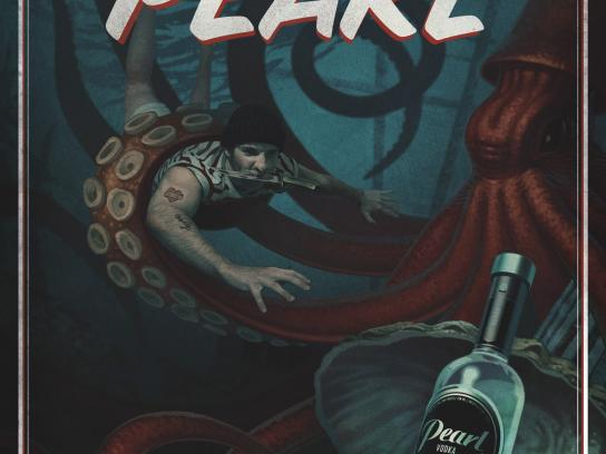 Pearl Vodka Print Ad - Cape Cod