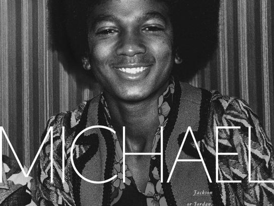 Livrarias Curitiba Print Ad - Biography Books - Michael Jackson