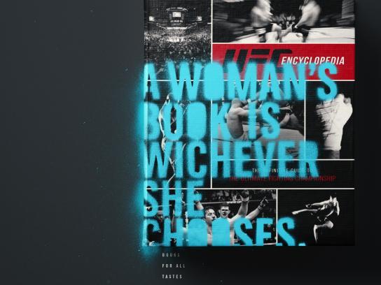 Livrarias Curitiba Print Ad - UFC book