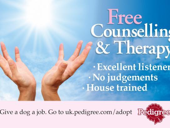 Pedigree Print Ad -  Give a dog a job, 5