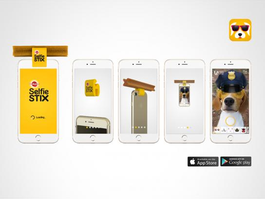 Pedigree Digital Ad - SelfieSTIX App