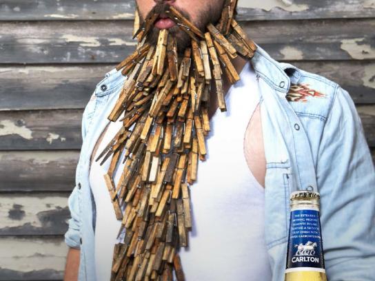 Carlton Dry Outdoor Ad -  Peg Beard, 2