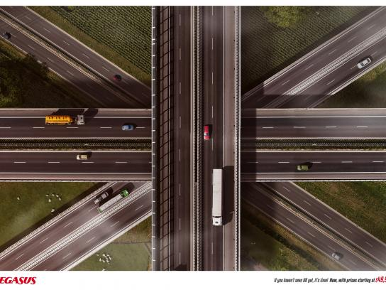 Pegasus Airlines Print Ad - If You Haven't Seen It Yet - UK