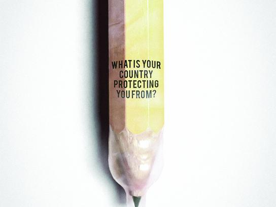 World press freedom day Print Ad - Pencil