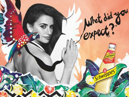Schweppes Print Ad -  Penelope, 1