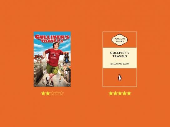 Penguin Print Ad - Gulliver
