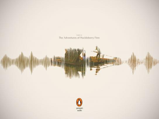 Penguin Print Ad - Huckleberry Finn