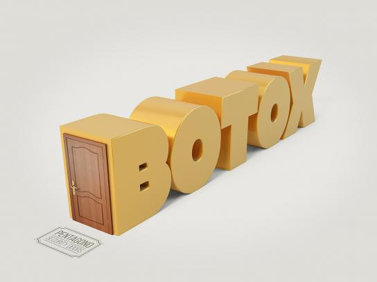 Pentagono Security Doors Print Ad - Botox