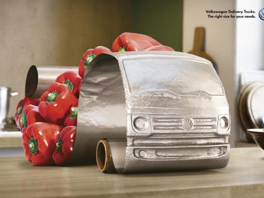Volkswagen Print Ad -  Peppers