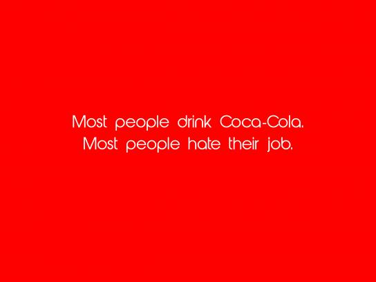 Pepsi Print Ad - Most People Drink Coca-Cola, 1