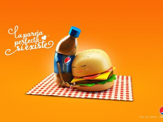 Pepsi Print Ad -  Couples, 1