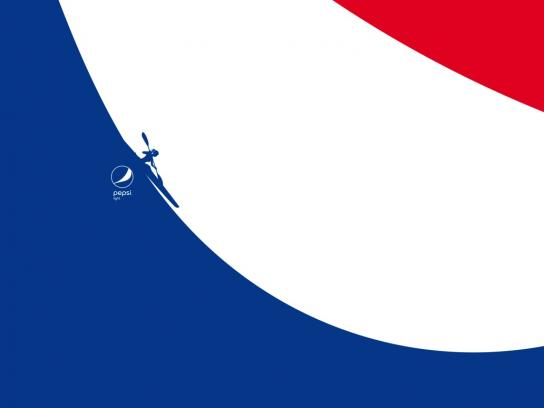 Pepsi Print Ad - Feel Light - Kayak