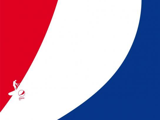 Pepsi Print Ad - Feel Light - Windsurf
