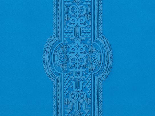 La Era Azul Library Print Ad -  Perception