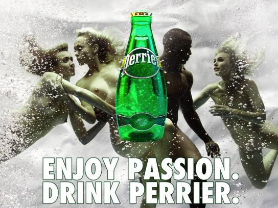 Perrier Print Ad - Enjoy Passion, 1