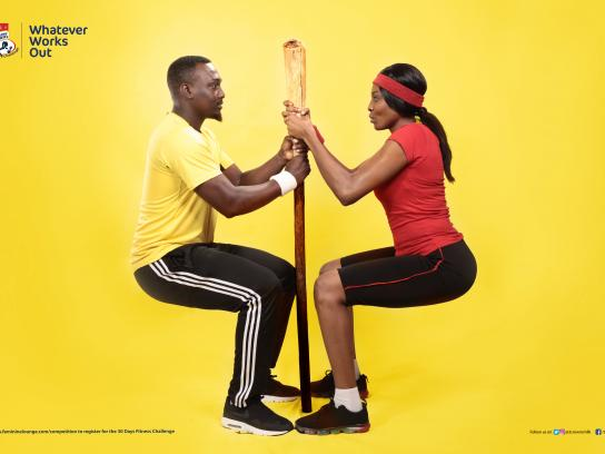 Three Crowns Milk Print Ad - Three Crowns Fitness Challenge Reloaded - Pestle