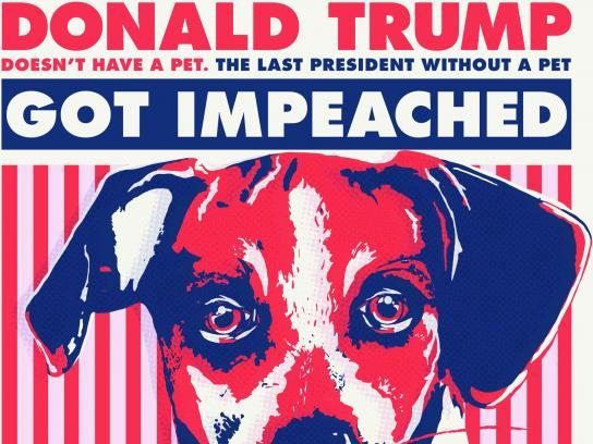 PETA Print Ad - Grab A Puppy