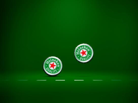 Heineken Print Ad -  Congratulations, Peter!