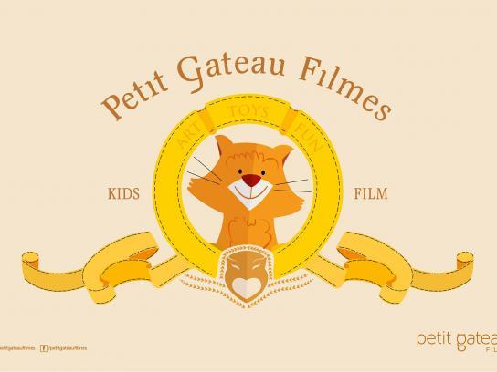 Petit Gateau Filmes Print Ad -  Cat