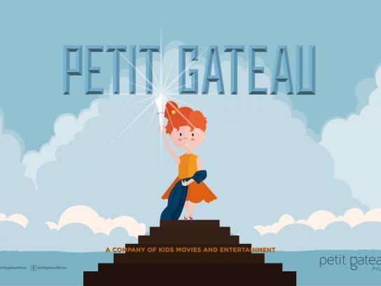 Petit Gateau Filmes Print Ad -  Girl