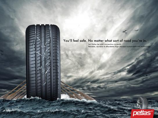 Petlas Tires Print Ad -  Breakwater