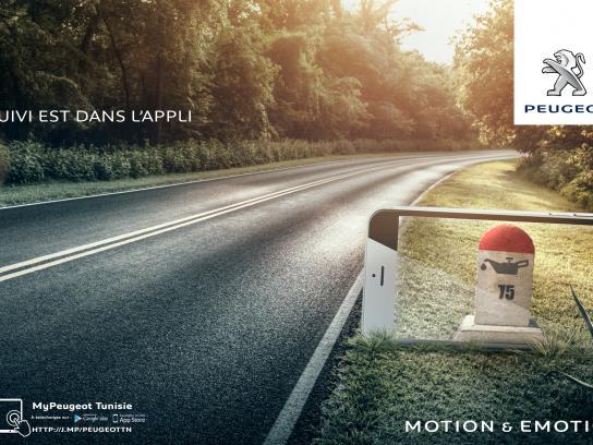 Peugeot Print Ad -  Sign, 2