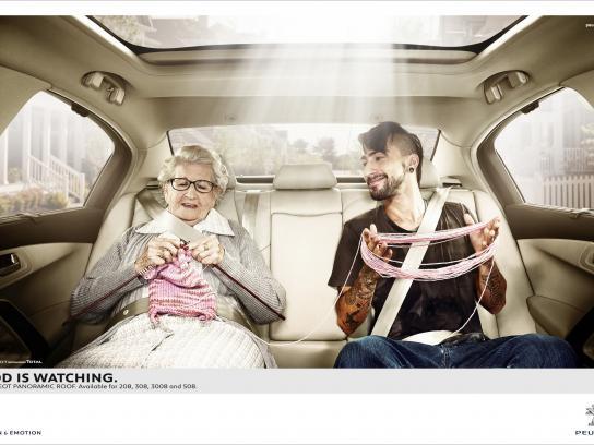 Peugeot Print Ad -  Grandma