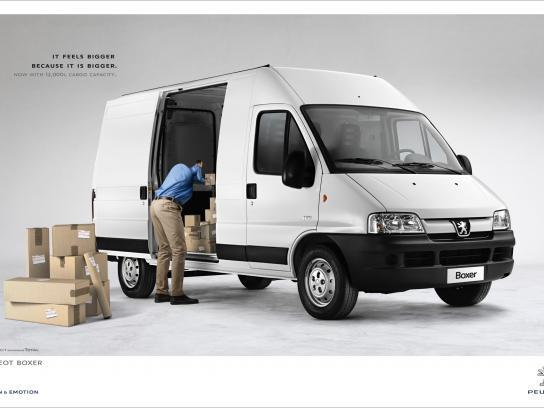 Peugeot Print Ad -  Side