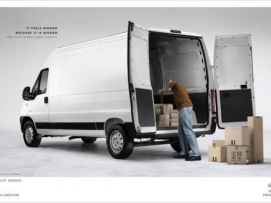 Peugeot Print Ad -  Back